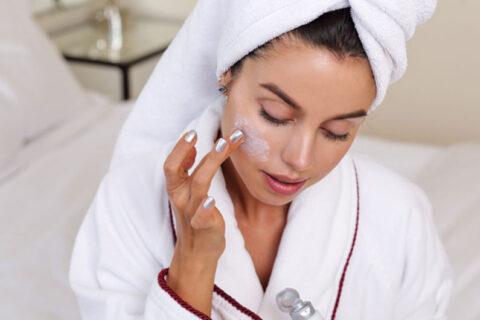 jak dbać o skórę po kąpieli