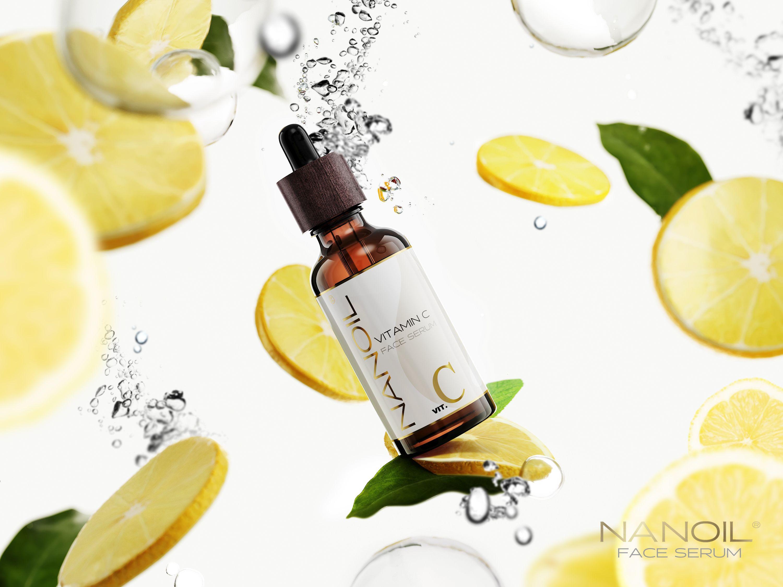 nanoil serum do twarzy z witaminą c