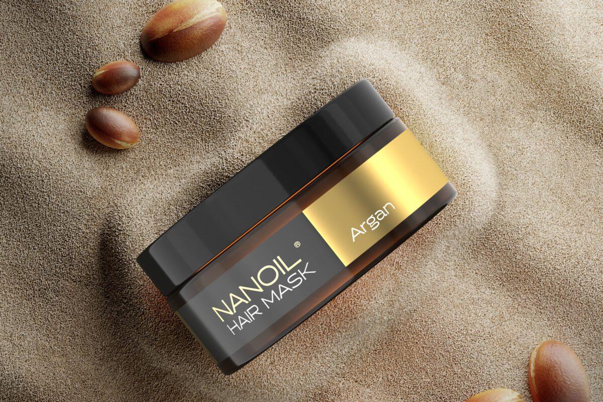 nanoil argan maska do puszących się włosów